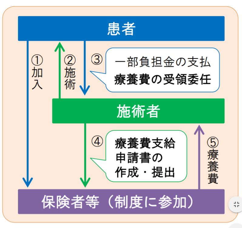 受領委任制度の仕組み